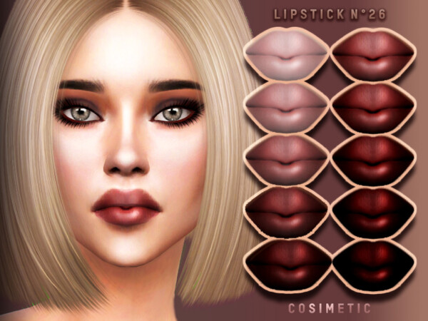 Lipstick N26 by cosimetic from TSR