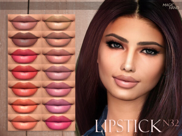 Lipstick N32 by MagicHand from TSR