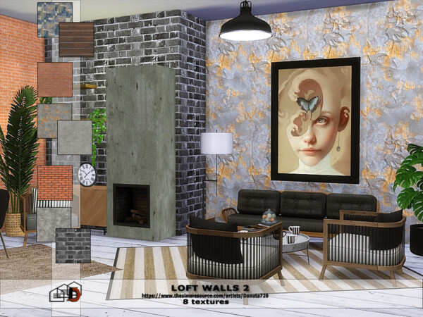 Loft Walls 2 by Danuta720 from TSR