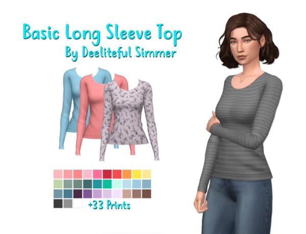 Long Sleeve Top from Deelitefulsimmer