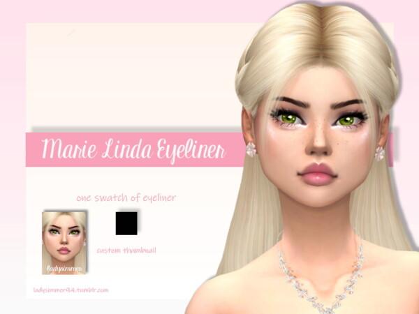 Marie Linda Eyeliner by LadySimmer94 from TSR