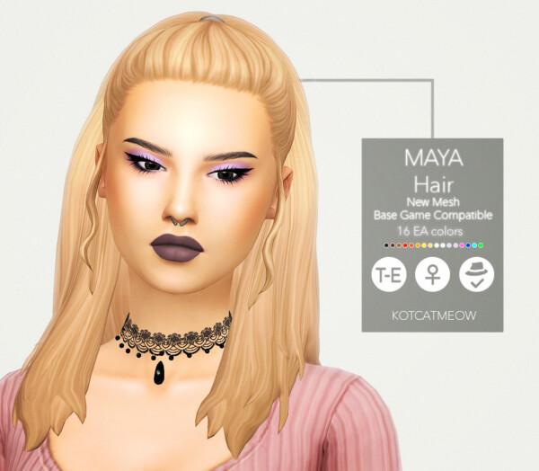 Maya Hair from Kot Cat
