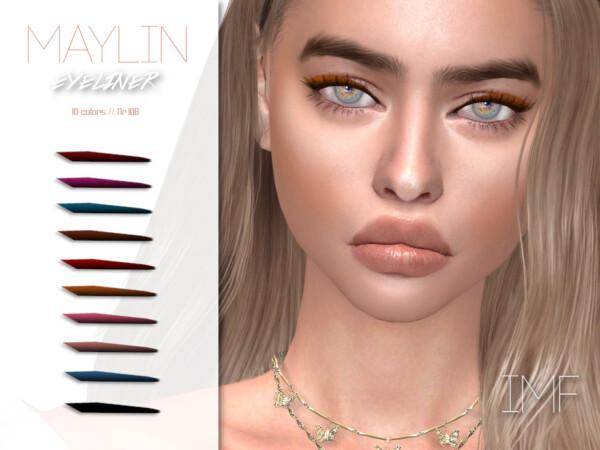 Maylin Eyeliner N.108 by IzzieMcFire from TSR