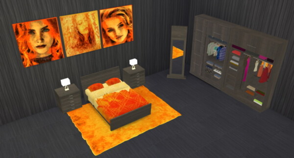 Micha Bedroom from Lizzy Sims