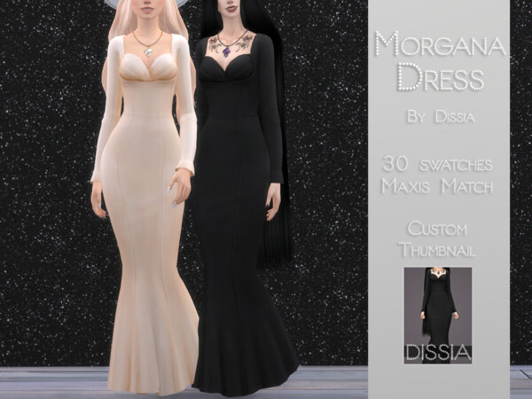 Morgana Dress by Dissia from TSR