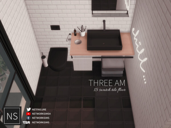 Three AM Tile Floor by Networksims from TSR