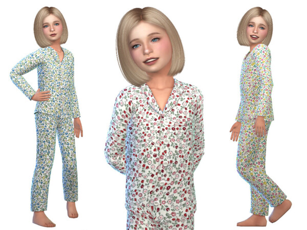 Pajama for Girls 06 by Little Things from TSR
