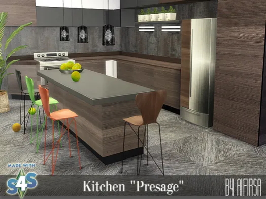 Presage Kitchen from Aifirsa Sims
