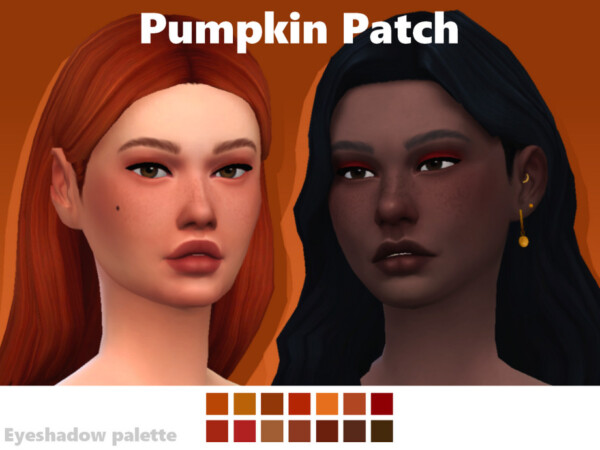Pumpkin Patch Eyeshadow Palette by EvaDotG from TSR