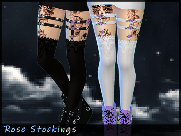 Rose Stockings by Saruin from TSR