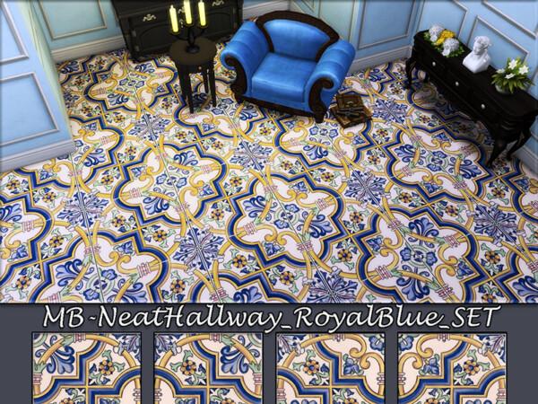 Royal Blue Floors Set by matomibotaki from TSR