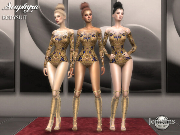 Seaphyra bodysuit by jomsims from TSR