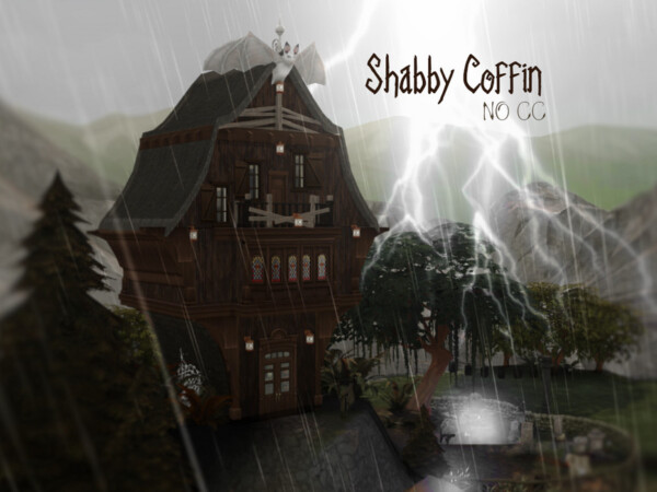 Shabby Coffin House by VirtualFairytales from TSR
