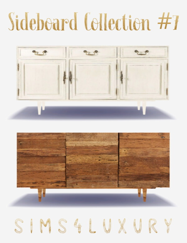 Sideboard Collection 7 from Sims4Luxury