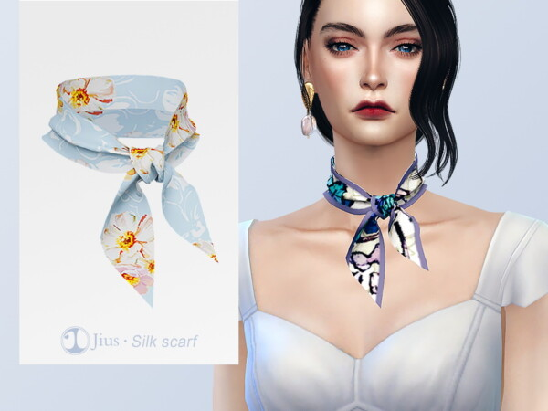 Silk scarf 01 by Jius from TSR