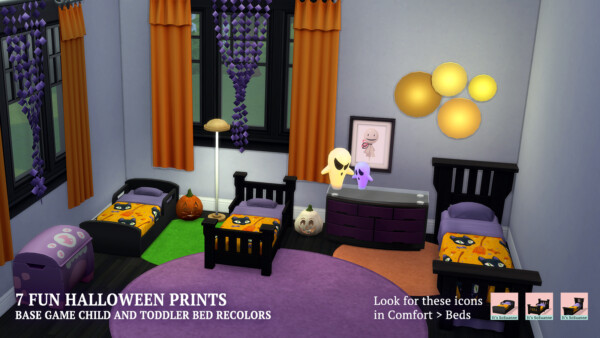 Single and Toddler Beds by  ImSuanne from Mod The Sims