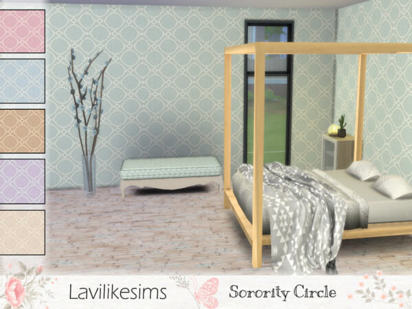Sorority Circle wals by lavilikesims from TSR