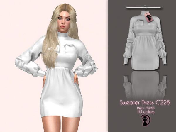 Sweater Dress by turksimmer from TSR