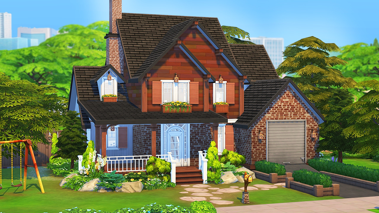 The Best Mosaic Basic Surburban House from Aveline Sims ...