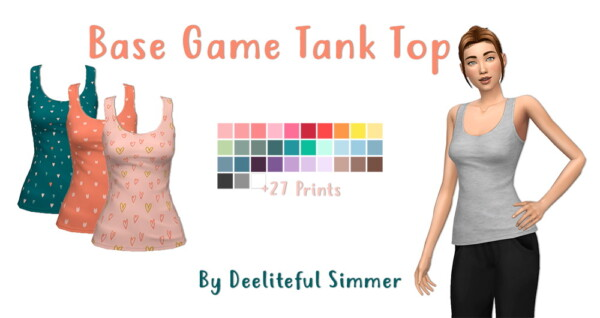Tank top from Deelitefulsimmer