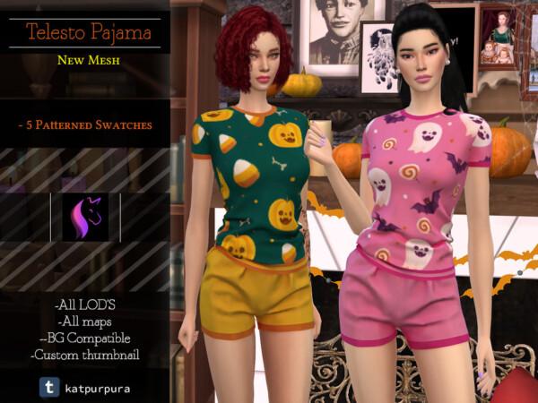 Telesto Pajamas by KaTPurpura from TSR