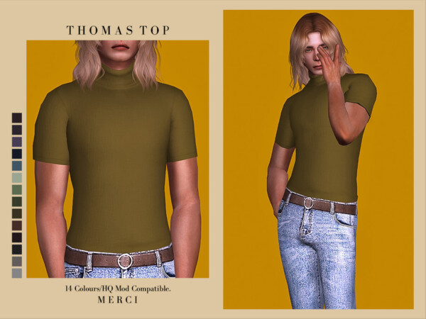 Thomas Top by Merci from TSR