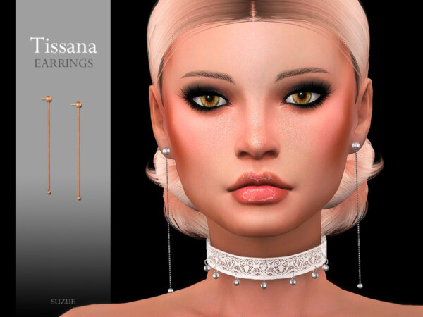 Tisssana Earrings by Suzue from TSR