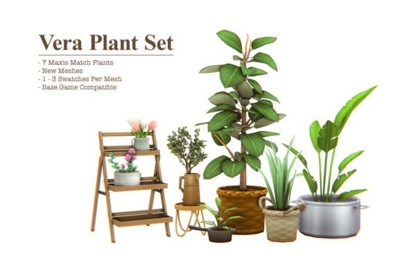 Vera Plant Set from Sims4Nicole