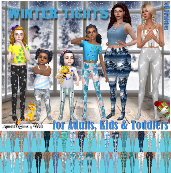 Winter Tights 2020 from Annett`s Sims 4 Welt