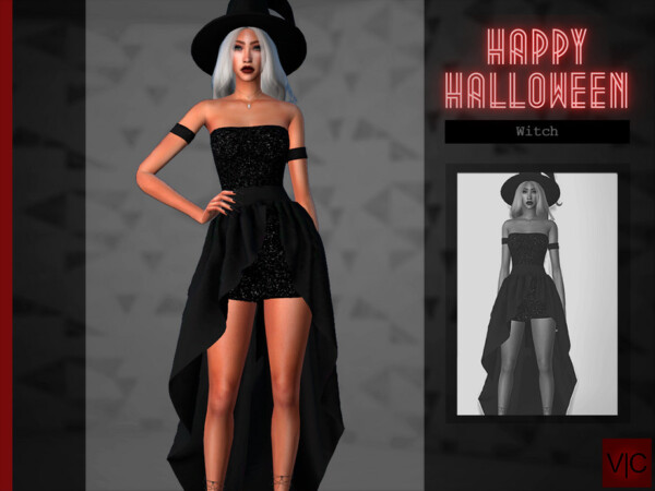 Witch  Halloween VI by Viy Sims from TSR