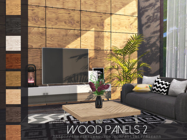 Wood Panels 2 by Rirann from TSR