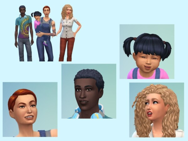 he Hyberg Tangen Family from KyriaTs Sims 4 World