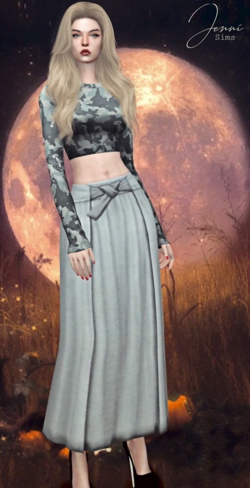 Long Skirt With Bow from Jenni Sims