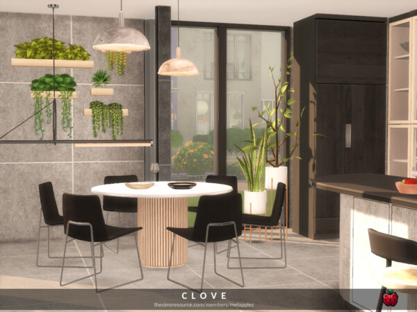 Clove kitchen by melapples from TSR