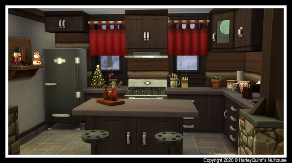 Christmas Cabin from Harley Quinn Nuthouse