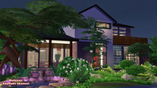 Japanese family home from Sims 3 by Mulena