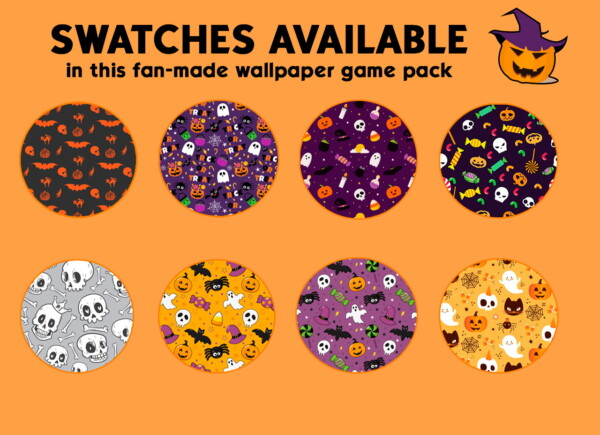 Halloween wallpaper pack by iSandor from Mod The Sims