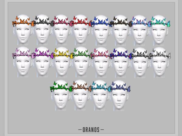 Boho Butterfly Headband by OranosTR from TSR
