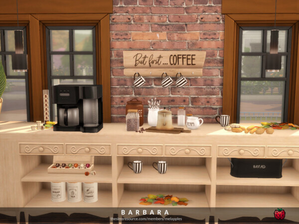 Barbara kitchen by melapples from TSR