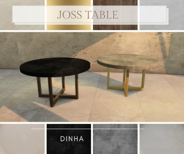 Joss Dining Set from Dinha Gamer