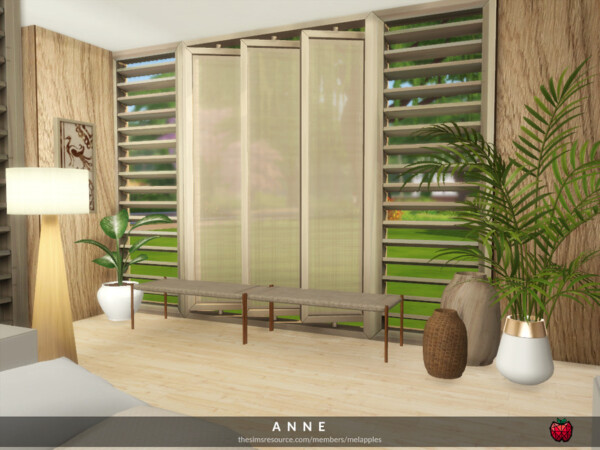 Anne bedroom by melapples from TSR