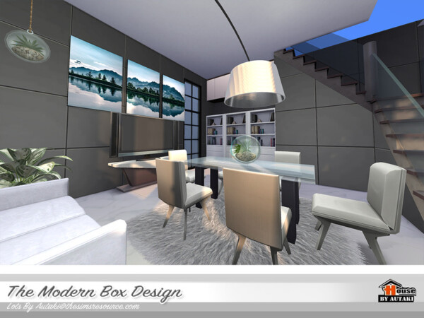 The Modern Box Design House by autaki from TSR