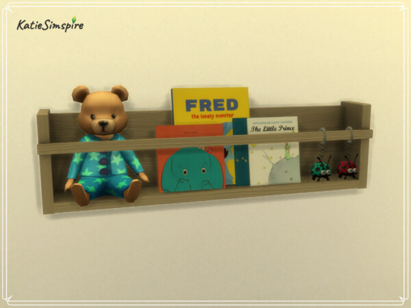 Toddler Bookcase by Katiesimspire from TSR