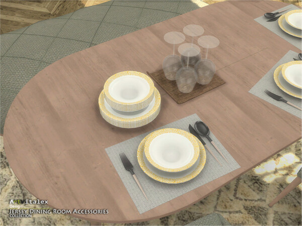 Jersey Dining Room Accessories by ArtVitalex from TSR