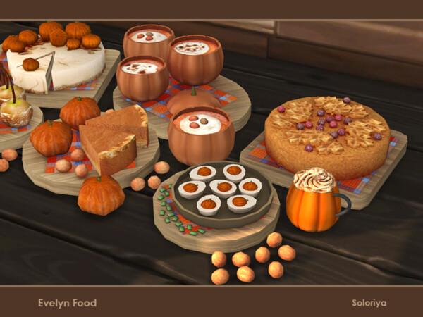 Evelyn Food by soloriya from TSR