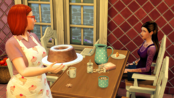 Pastry Lover Trait by Caradriel from Mod The Sims