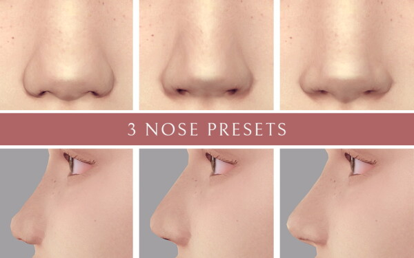 3 Nose Presets from Lutessa