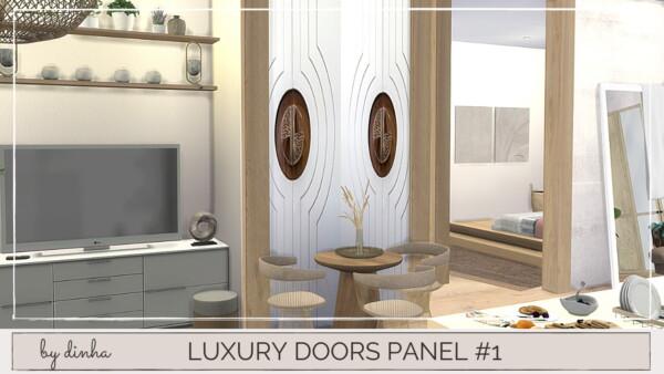 Luxury Doors Panel 1 from Dinha Gamer