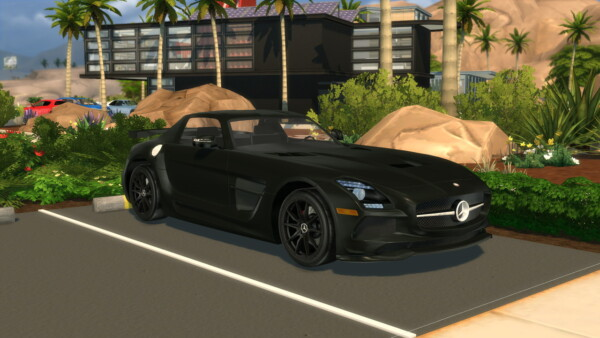 2014 Mercedes Benz SLS AMG Black Series from Modern Crafter