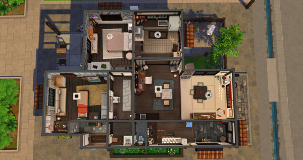 Agreable House from Simsontherope